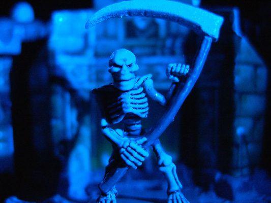 Der blaue Tod!