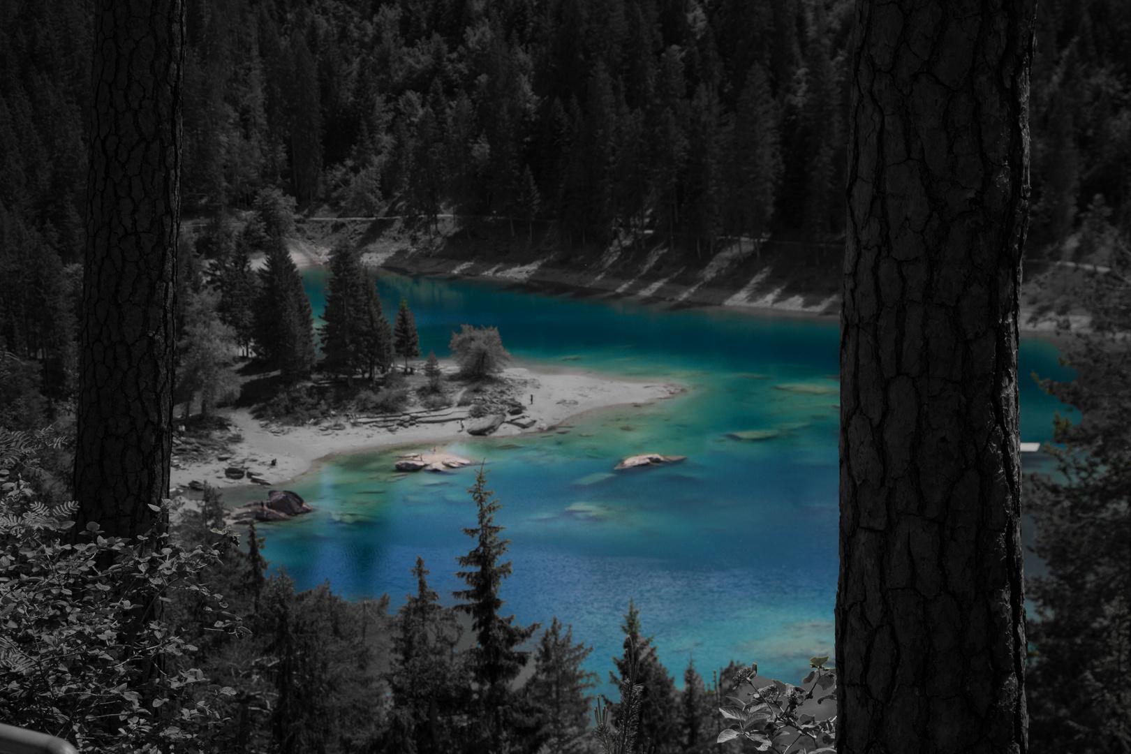 Der blauste See der Schweiz