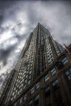 Der Blick am Empire State Building hinauf