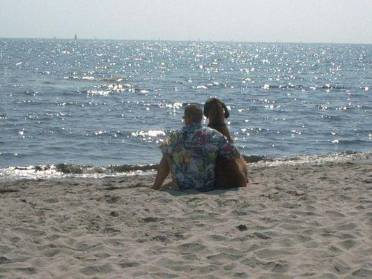 Der Blick auf die Ostsee