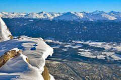 Der Blick auf Innsbruck
