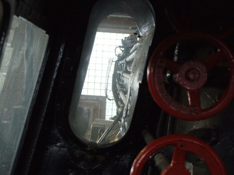 Der Blick des Heizers und ab und zu des Lokführers