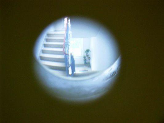 Der Blick durch den Türspion
