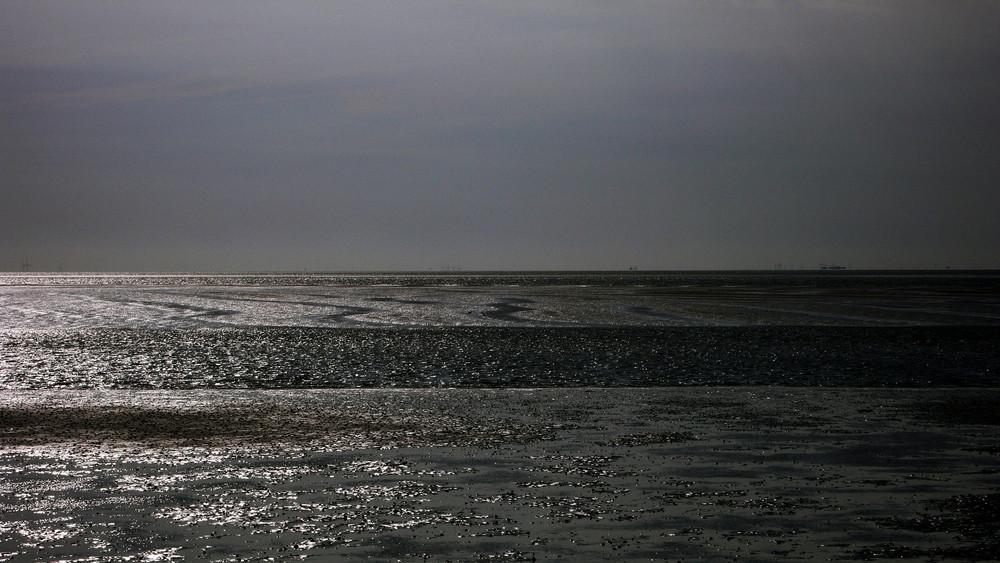 """Der Blick in die """"Unendlichkeit """" (20 km)"""