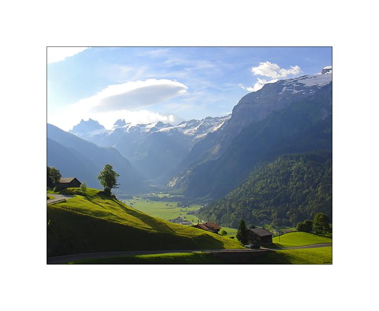 Der Blick ins Engelberger Tal