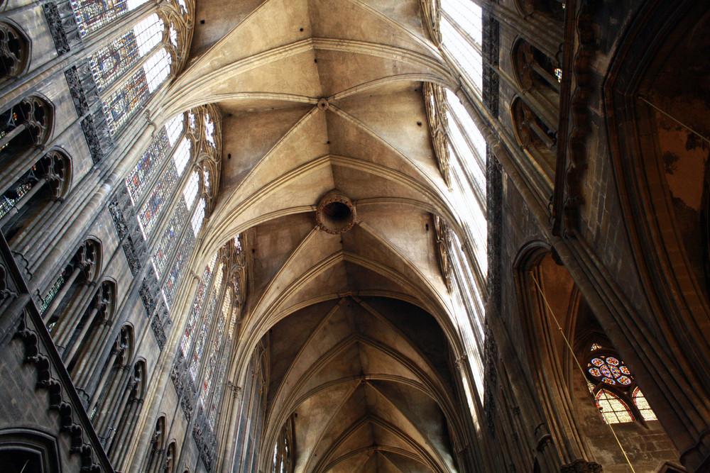 Der Blick nach oben