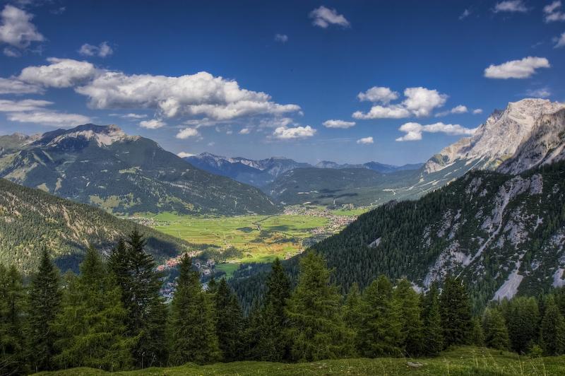 Der Blick vom Marienberg