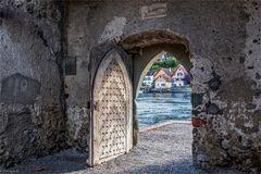 Der Blick zum Rhein ...