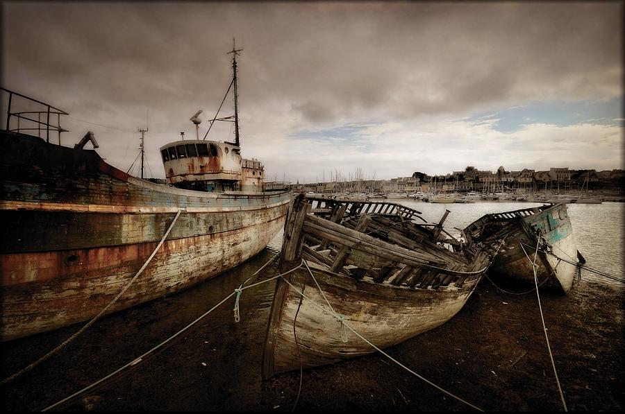 der Bootsfriedhof von Camaret