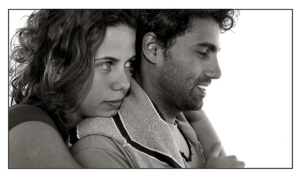 Der Brasiliansische Kino-Star Reinaldo Rodrigues mit seiner Freundin in Havanna