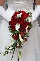 Der Brautstrauss in der Kirche