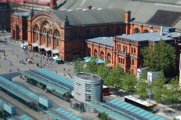 Der Bremer Hauptbahnhof