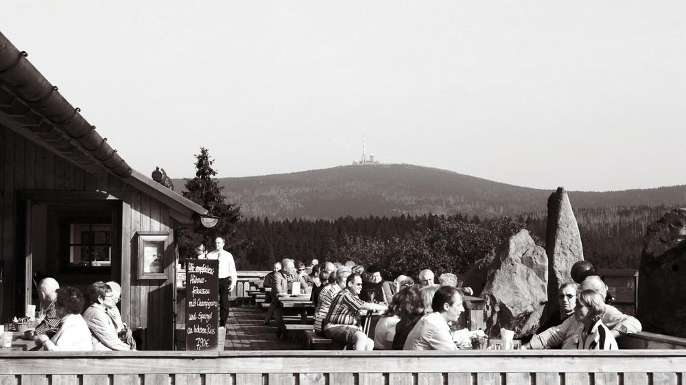 Der Brocken von der Bavaria Alm / Torfhaus