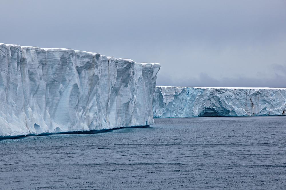 Der Bråsvellbreen Gletscher, Svalbard von Laszlo (L.C.S.)