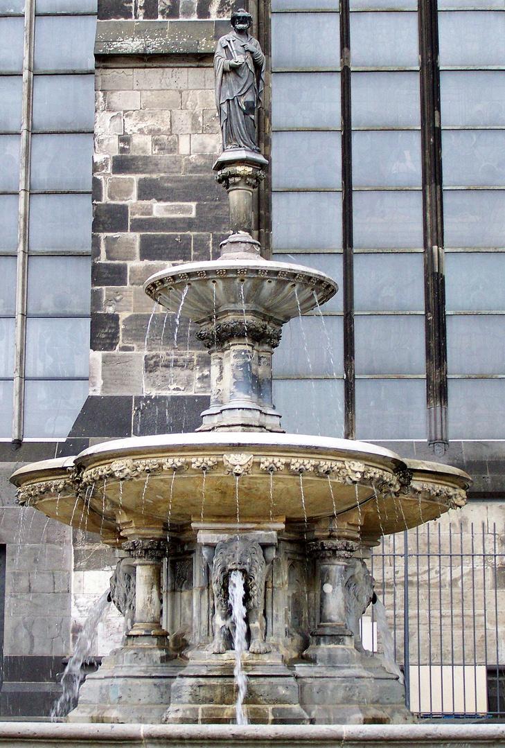 DEr Brunnen am Dom