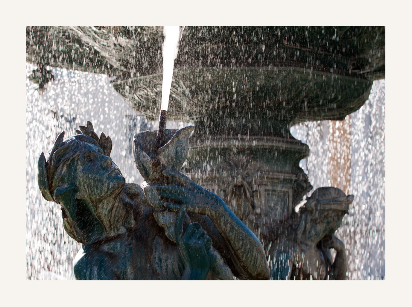 der Brunnen auf dem Rossio