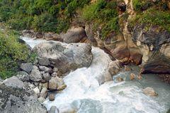 Der Budhi Gandaki bei GHAP