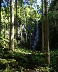 Der Burgbachwasserfall 2