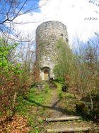Der Burgturm der Seeburg (Roter Turm) ...