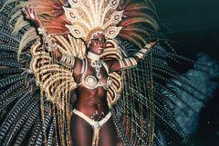 Der Carneval in Rio auf dem Höhepunkt 1985