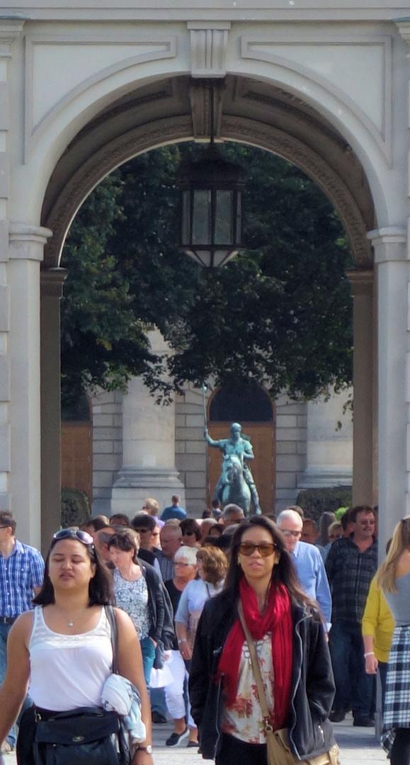 der 'cowboy' und seine (touristen)herde