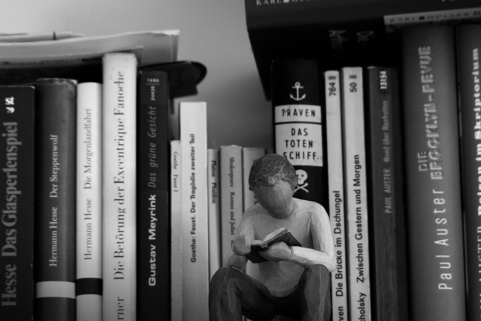 Der Denker äh Leser