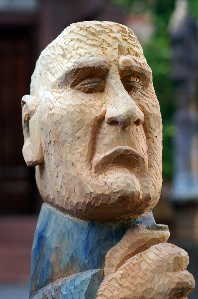 Der Denker - Skulpturenpfad Friedberg / Bayern
