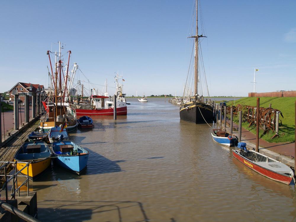 Der Ditzumer Hafen