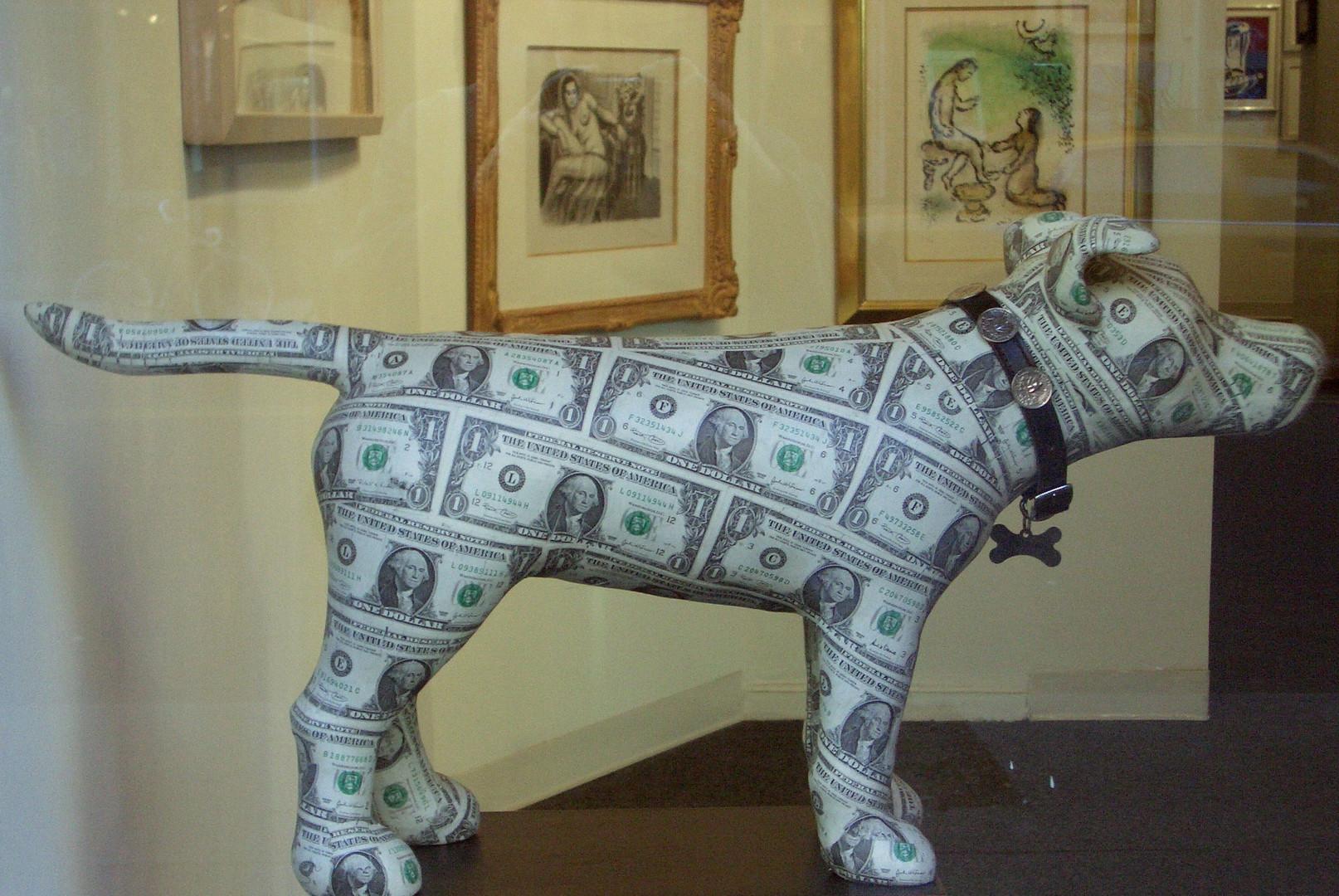 der dollar - auf den hund gekommen
