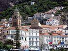Der Dom (Fassade und Turm) in Amalfi