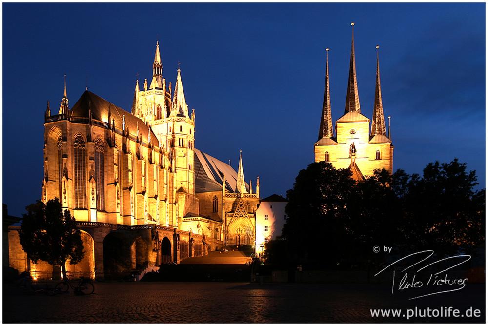 Der Dom in Erfurt...