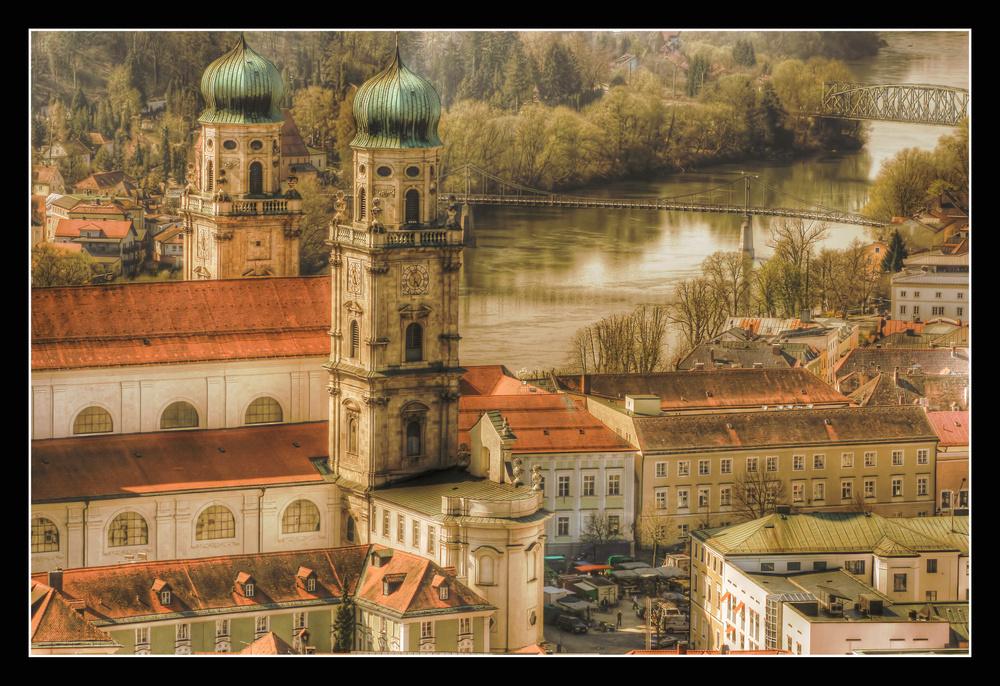 Der Dom St. Stephan in Passau