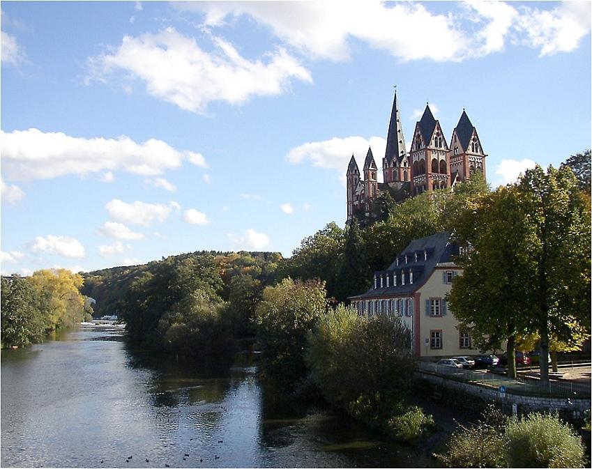 Der Dom von Limburg an der Lahn