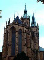 Der Dom zu Erfurt