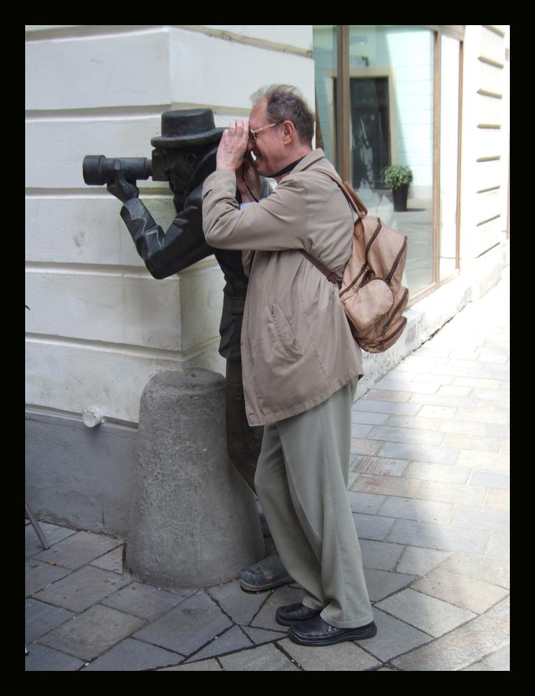 Der doppelte Paparazi!