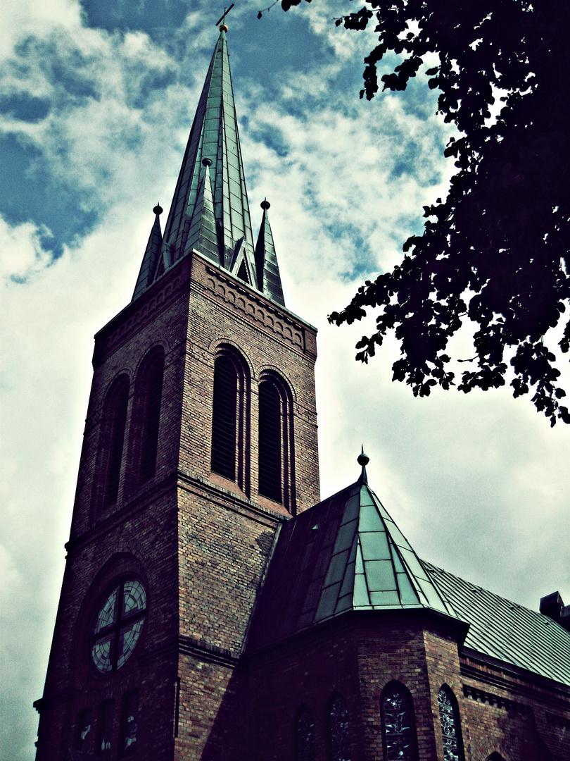 Der Dorstener Kirchturm