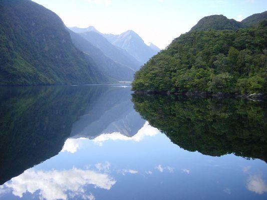 Der Doubtful Sound Neuseeland