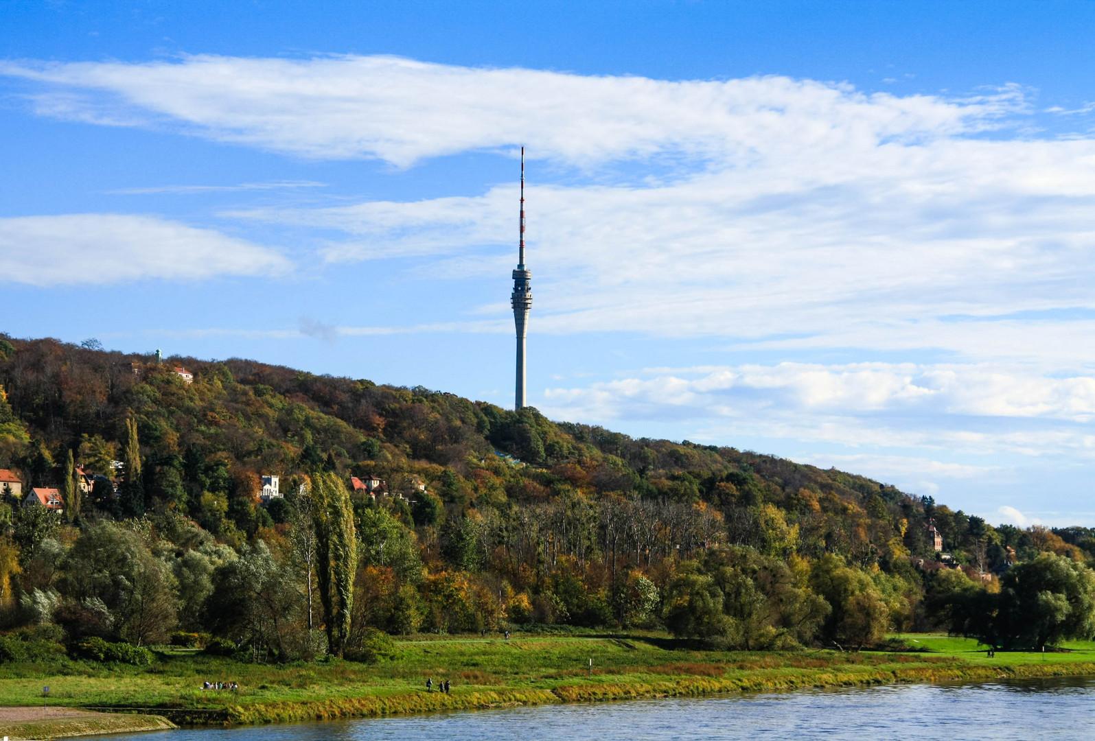 Der Dresdner Fernsehturm