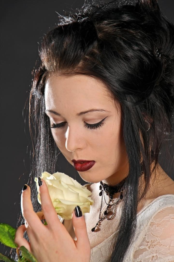 Der Duft der Rose.