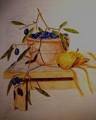 Der Duft des Südens-Oliven...