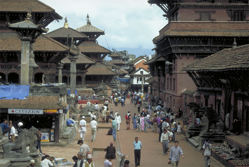 Der Durbar Square in Patan