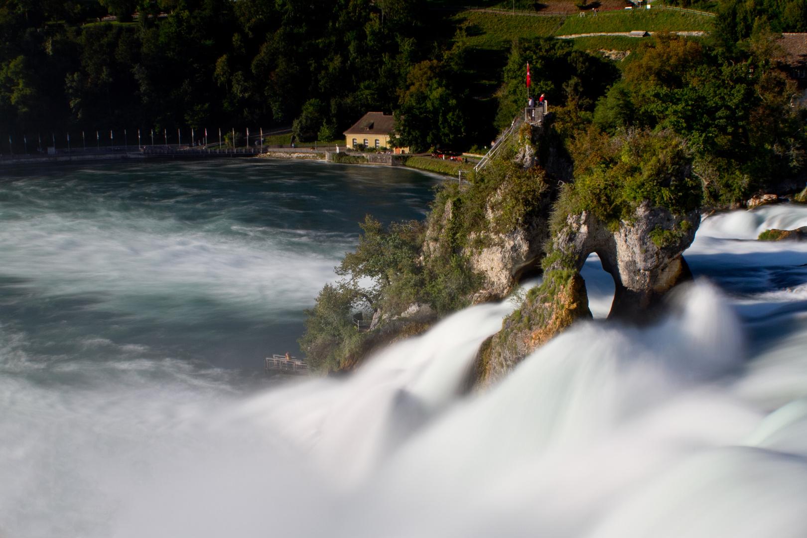 Der dynamische Rheinfall