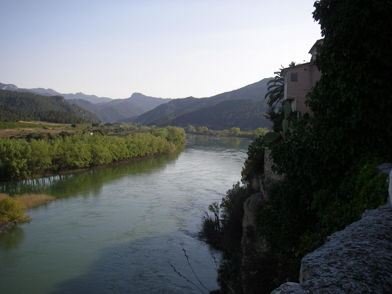 Der Ebro bei Miravet