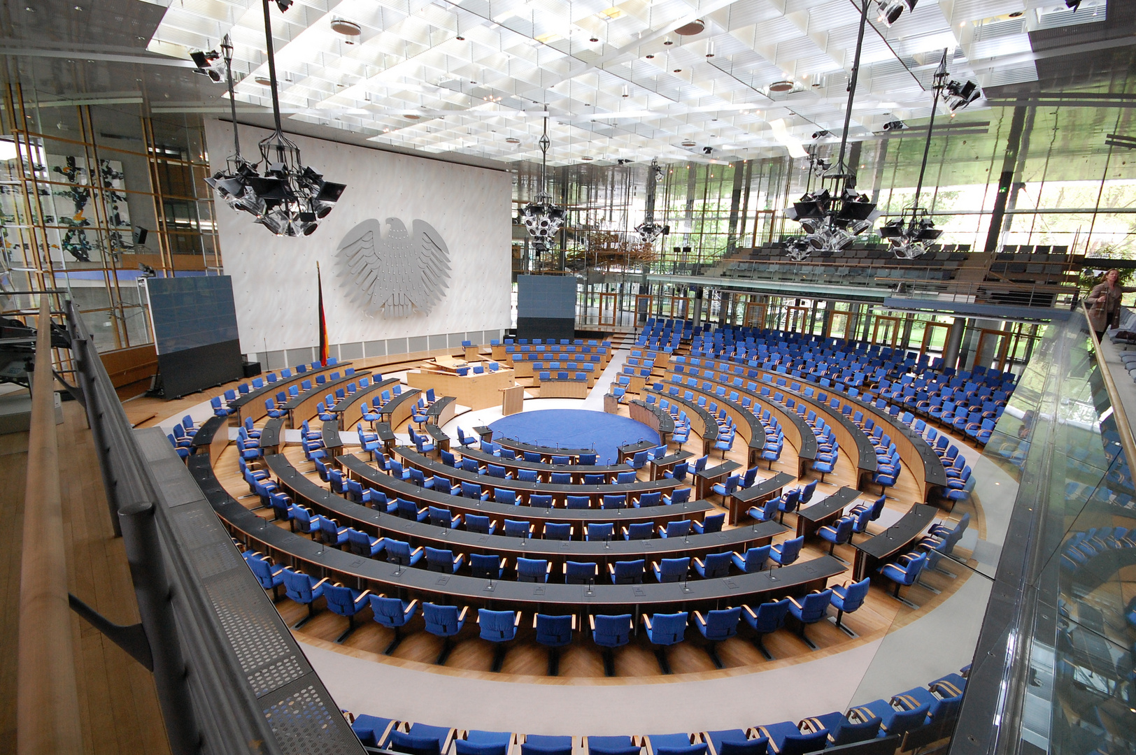 Der ehemalige Bundestag in Bonn