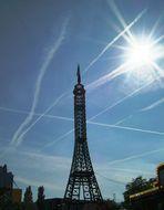 Der Eiffelturm in Bad Cannstadt