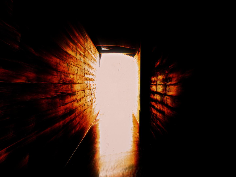 Der eine Eingang