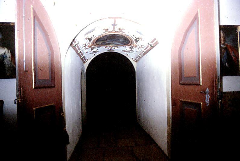 Der Eingang---