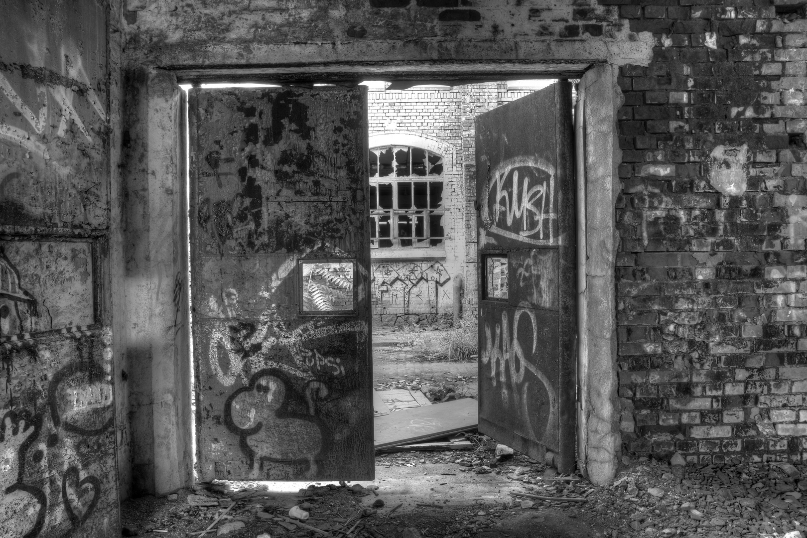 Der Eingang in die Vergangenheit...