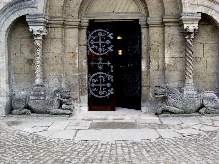 Der Eingang zum Kaiserdom in Königslutter