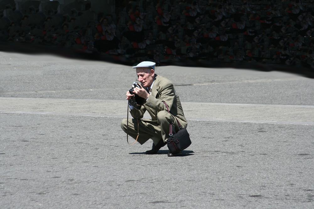 Der einsame Fotograf